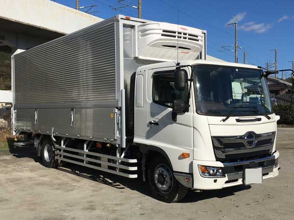HINO Freezer wing with P/G 2PG-FE2ABG