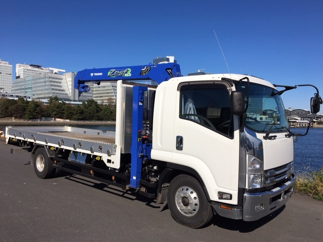 ISUZU Crane with self TKG-FRR90S2