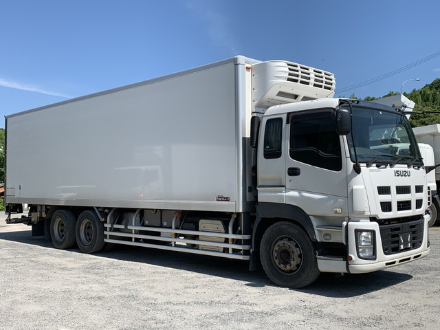ISUZU Freezer with P/G QKG-CYL77A