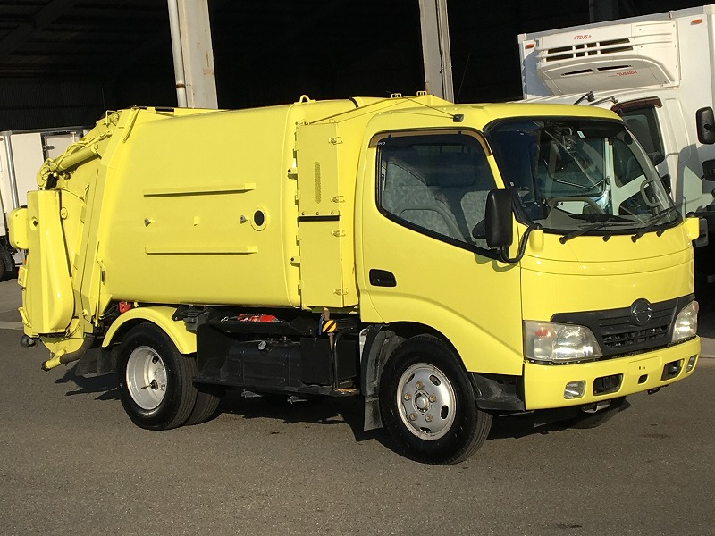 HINO Rubbish packer BDG-XZU304X