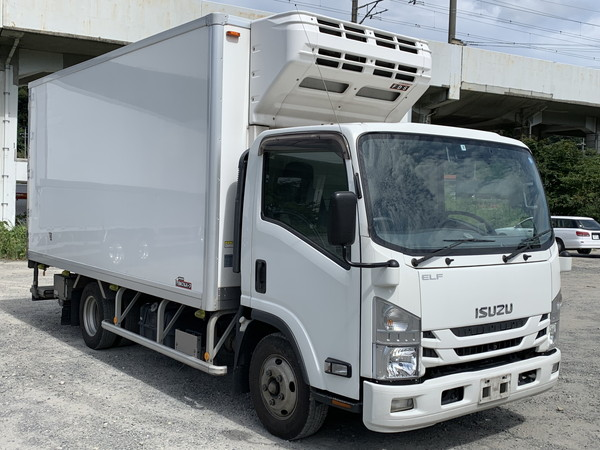 ISUZU Freezer with P/G TPG-NPR85AN
